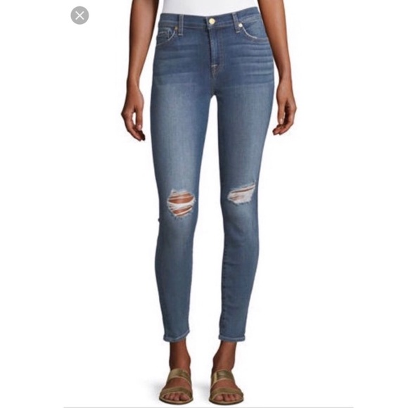 7 For All Mankind Denim - 7 For All Mankind | Gwenevere Skinny Ankle Jeans